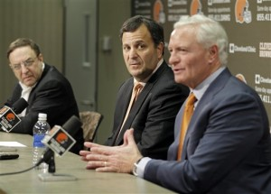 Mike Lombardi, Jimmy Haslam, Joe Banner